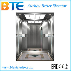 Ce Gearless Traction Passenger Elevator with Small Machine Room