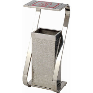 Stainless Steel Dustbin with S Style (YH-232F) pictures & photos