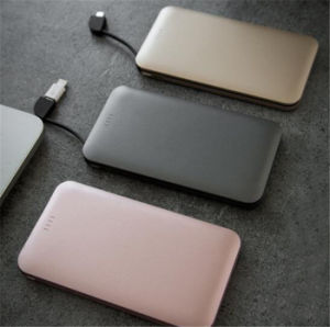 Universal Ultra-Thin 5000mAh Charger Polymer Mobile Power Bank pictures & photos