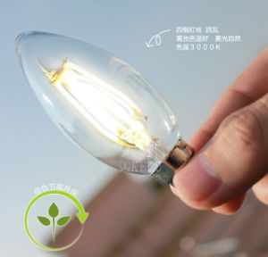 LED Lighting Candles Energy-Saving Bulb C9 Sharp Global Super Bright Lamp pictures & photos