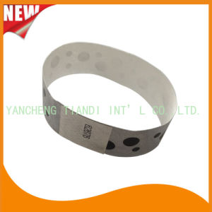 Tyvek Entertainment Custom Party VIP Paper ID Wristbands (E3000-1-68) pictures & photos