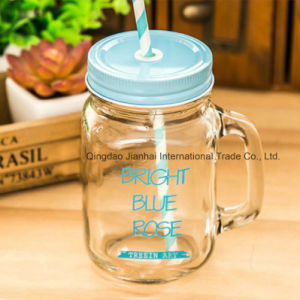 Engraved-Personalised Mason Drinking Glass Jar for Wedding Gift pictures & photos