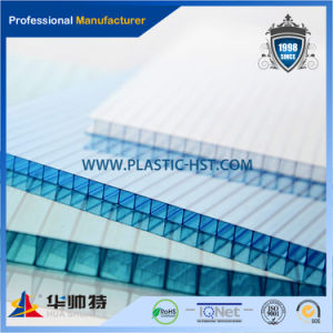 Hot Sell High Quality Colorful Hollow PC Sheet pictures & photos
