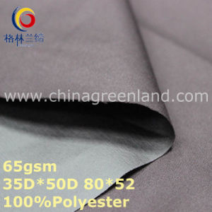 Plain Polyester Pongee Dyeing Fabric for Jacket Clothes (GLLML328) pictures & photos