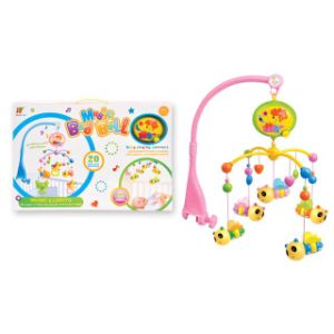 Electric Musical Lovely Rotating Bed Bell Plastic Baby Toy pictures & photos