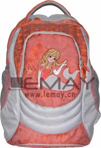 Hot Girls Stripes Day Pack School Day Backpack pictures & photos