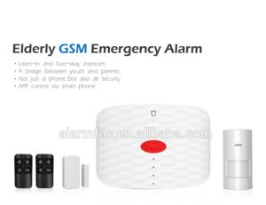 Europe Hot Sale Elderly Life Care Products GSM Elderly Guarder Alarm GSM SMS Emergency Call Sos pictures & photos