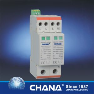 SPD 15ka Arrester Three Phase Surge Protection Device pictures & photos