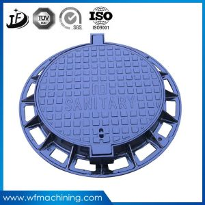Wrought Iron Double Triangular Telecom Manhole Covers for Road pictures & photos