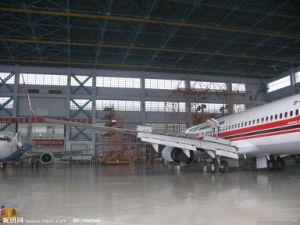 Prefab Space Frame Aircraft Hangar pictures & photos