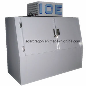 Cold Wall Ice Storage Merchandiser with Slant Doors (DC-600) pictures & photos
