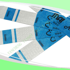 Entertainment Water-Proof Tyvek Wristbands (E3000-3-2) pictures & photos