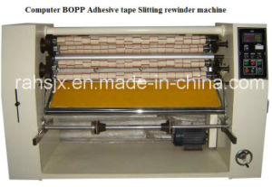 High Speed OPP Glue Types Slitting Rewind Machine Line pictures & photos