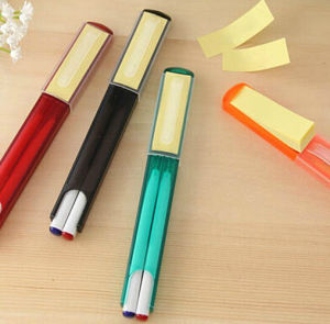 Colorful Mini Sticky Note Ball Point Pen Set pictures & photos