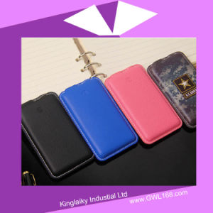 PU Leather Power Bank 5000mAh Pb-1006 pictures & photos