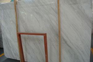 A Grade Beautiful Volakas White Marble Slab pictures & photos