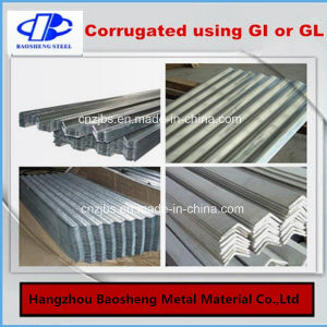 Steel Plate Galvanized Steel Coil Corrugated Roofing Sheet pictures & photos
