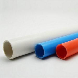 Black PVC Plastic Cable Pipe Conduit pictures & photos