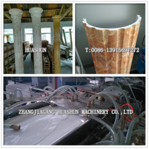 PVC Roman Pillar Extrusion Line Machine pictures & photos