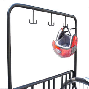 Multifunction Bike Rack Fence with Helmet Hanger pictures & photos