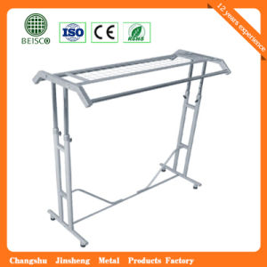 Metal Double-Pole Display Clothes Stand pictures & photos