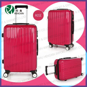Red Trolley Luggage Sets for Woman and Girls pictures & photos