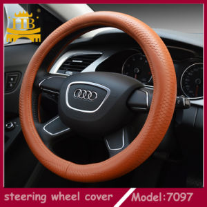 Genuine Leather Steering Wheel Cover, Car Accessories