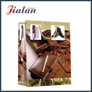 Matte Laminated Ivory Paper High-End Notebook Shopping Gift Paper Bag pictures & photos