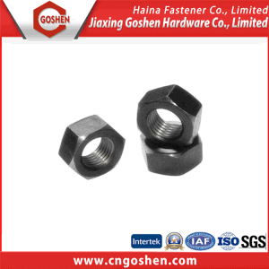 High Strength ASTM A563 Black Hex Nut pictures & photos