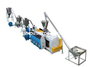 PVC Hot Cutting Die Head Granulator, PVC Pelletizing Line, Granulating Machine pictures & photos