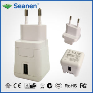 5VDC 2A White Color Travel Charger with EU/Europe AC Pin pictures & photos