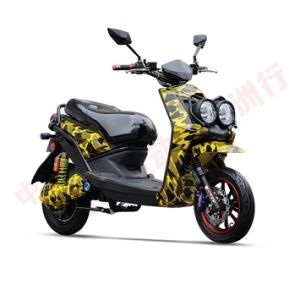 60V20ah 800W Long Range High Clambing Property Adult Electric Motorcycle Scooter pictures & photos