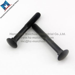 Metric Carriage Bolts, Zinc Plated Steel, 6mm X 20mm pictures & photos