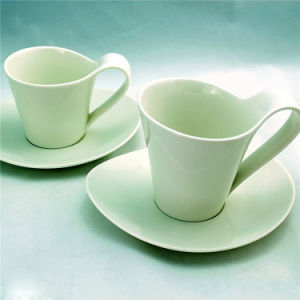 High Quality Ceramic Coffee Cups with Plate