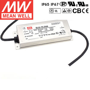 Meanwell Elg-75 Series LED Power Supply Elg-75-48A Elg-75-36A Elg-75-24A