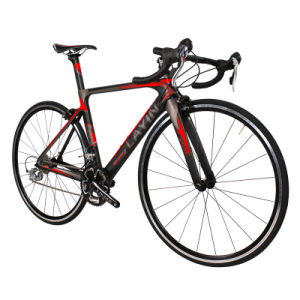 Bicycle Factory 18-Speed Shimano Sora 3500 Carbon Fiber Road Bike pictures & photos