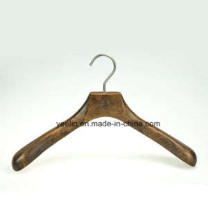 Different Sizes Anti Slip Wooden Clothes Hanger for Coats (YL-a013) pictures & photos