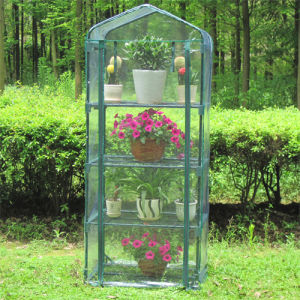 Hot Sales Garden DIY Warm Green House Plastic Greenhouse pictures & photos