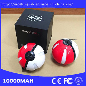 2016 New Design 10000mAh Pokemon Go Power Bank Pokeball pictures & photos