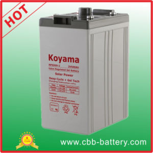 2V500ah Solar Battery Bank with The Latest Technology pictures & photos