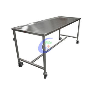 Low Price & Good Quality Stainless Steel Mortuary Coffin Trolley pictures & photos