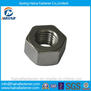 Jiaxing Haina Stainless Steel A2-70 Hex Metric Nuts pictures & photos