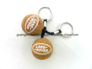 Custom New Fashioned Floating Cork Keychain pictures & photos
