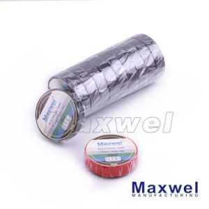 PVC Electrical Insulation Adhesive Tape (180Z) pictures & photos