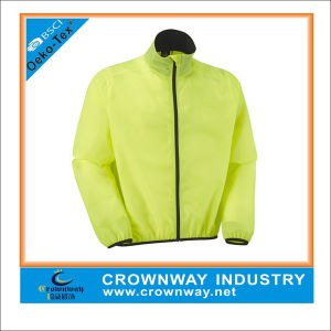 100% Polyester Lighiweight Windproof Breathable Cycling Jacket pictures & photos