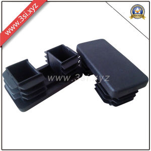 China Black Plastic End CapsCoversProtectors for Chair LegsFeet