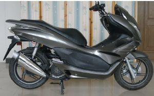 Sanyou New Model 125CC-150CC Gasoline Scooter T6 pictures & photos