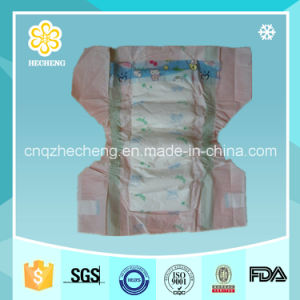 Magic Tape Cloth Like Cover Smart Baby Diapers pictures & photos