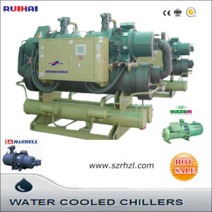 Water Cooled Screw Chiller for Machinery pictures & photos