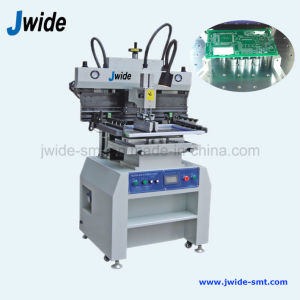 LED Semi Automatic PCB Screen Printer for SMT Solution pictures & photos